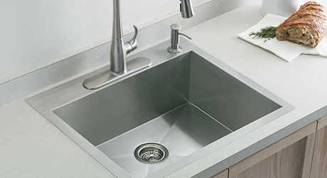 Get a new sink - Affordable Kitchen Updates