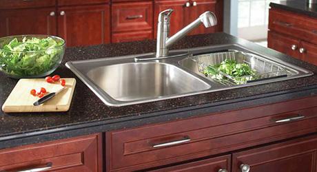Install garbage disposal - Affordable Kitchen Updates