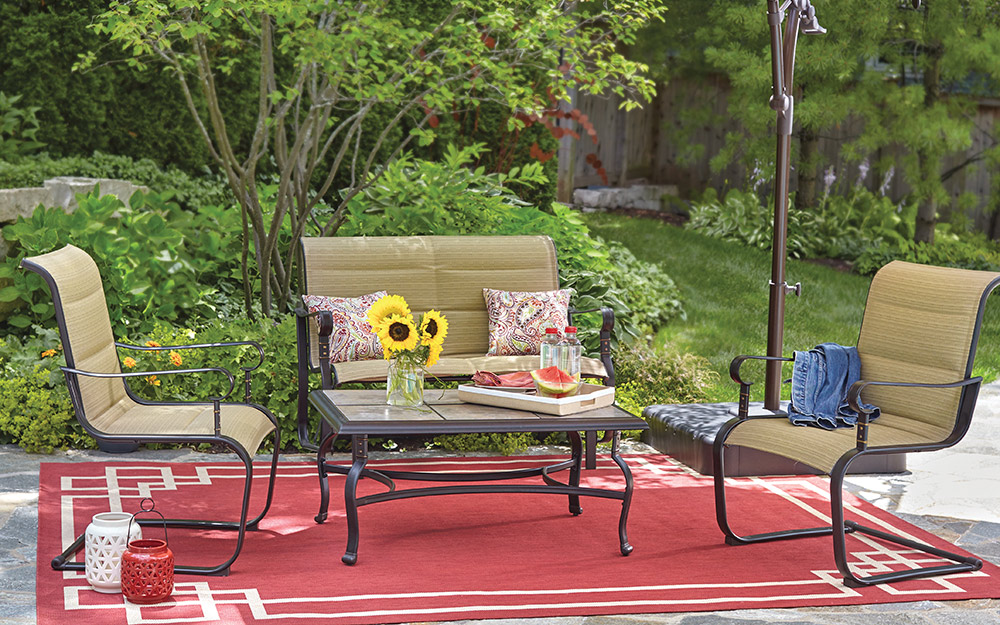 Backyard Ideas on a Budget - The Home Depot on Patio Designs On A Budget id=57370