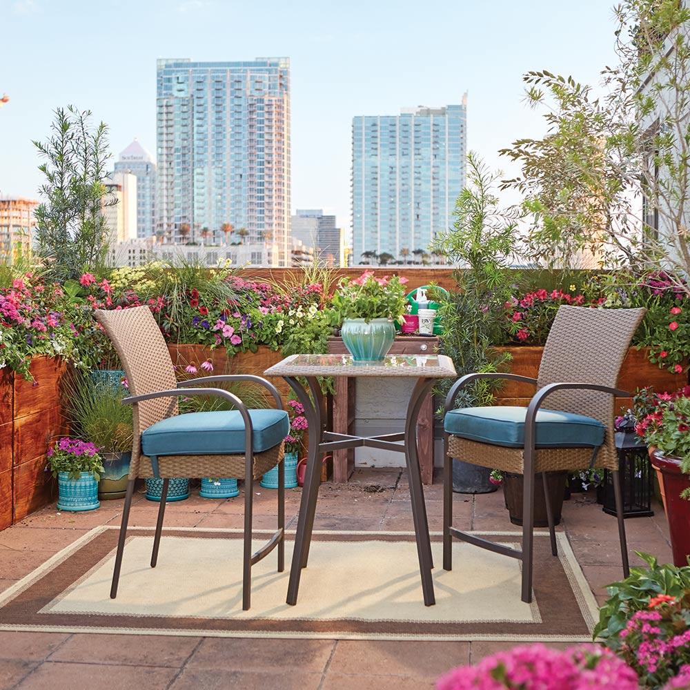 Backyard Balcony Ideas - Image Balcony and Attic
