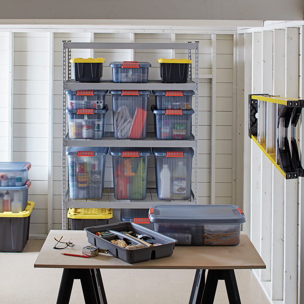Basement Storage Ideas The Home Depot