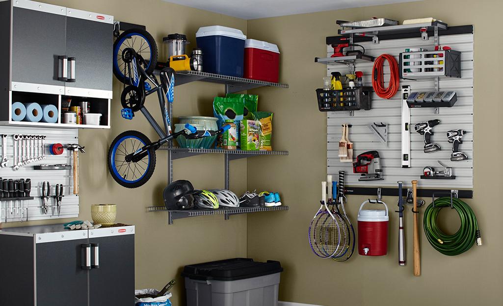 Basement Storage Ideas The Home Depot