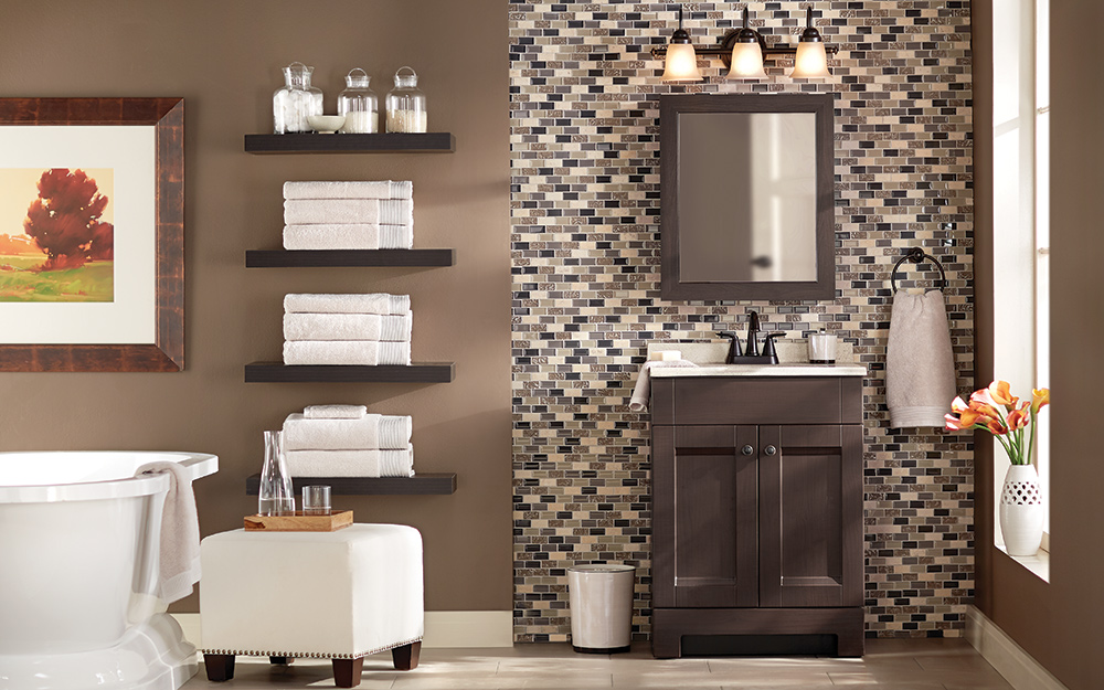 Bathroom Storage Ideas - The Home Depot