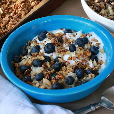 Begin Your Day the Right Way With a Blueberry Breakfast Bowl