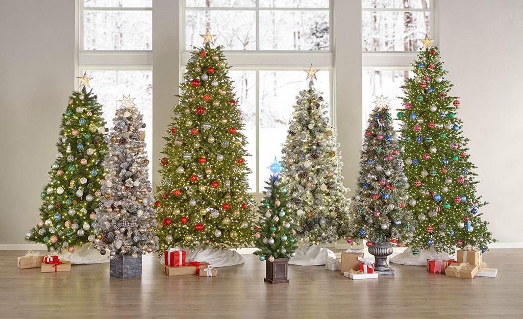 Best Artificial Christmas Trees For The Season The Home Depot,Modern Exterior House Colors India