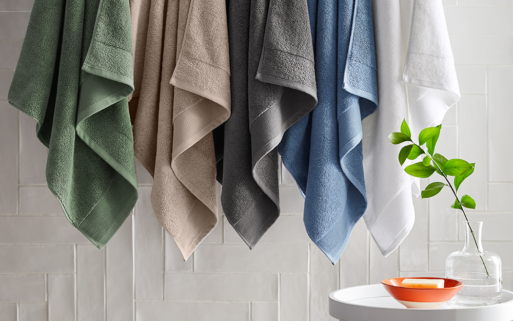 Best Bath Towels For Your Bathroom The Home Depot