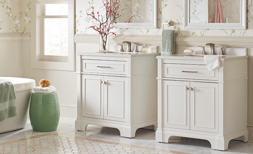 Best Bathroom Vanities For Your Home The Home Depot