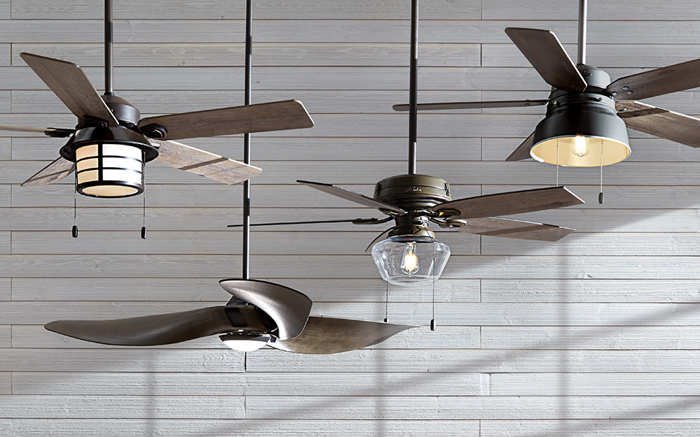 How to Choose the Best Ceiling Fan - The Home Depot Older Emerson Ceiling Fan Wiring Diagram on