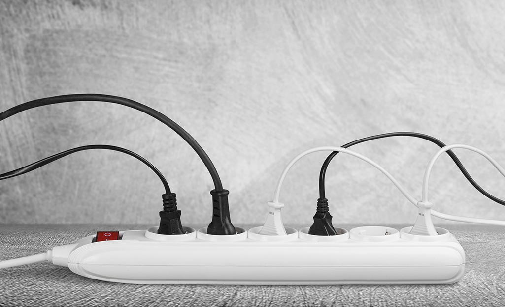 Power strip for holiday lighting at your home.