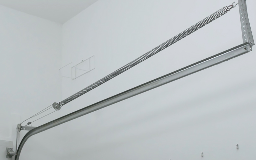 an extension spring for a garage door