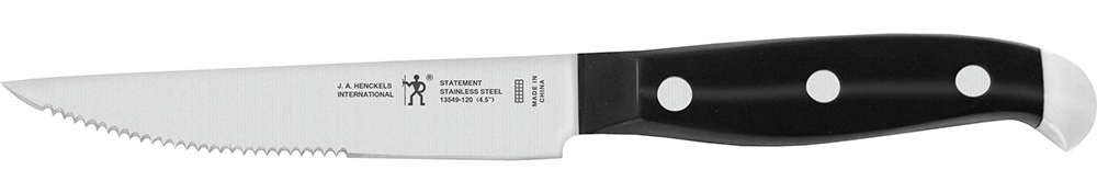 A steak knife.