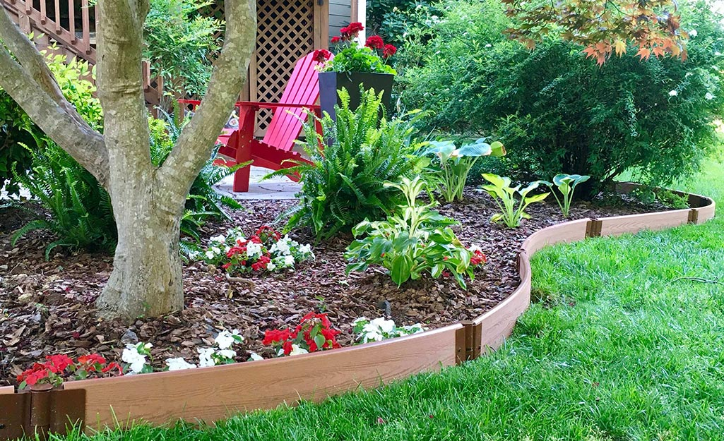 Image of: Best Landscape Edging For Your Yard The Home Depot