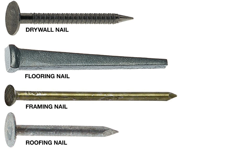 Types of Nails , The Home Depot