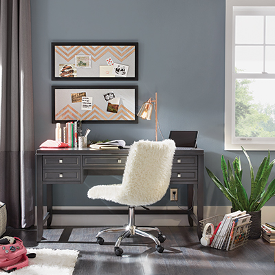 a stylish home office