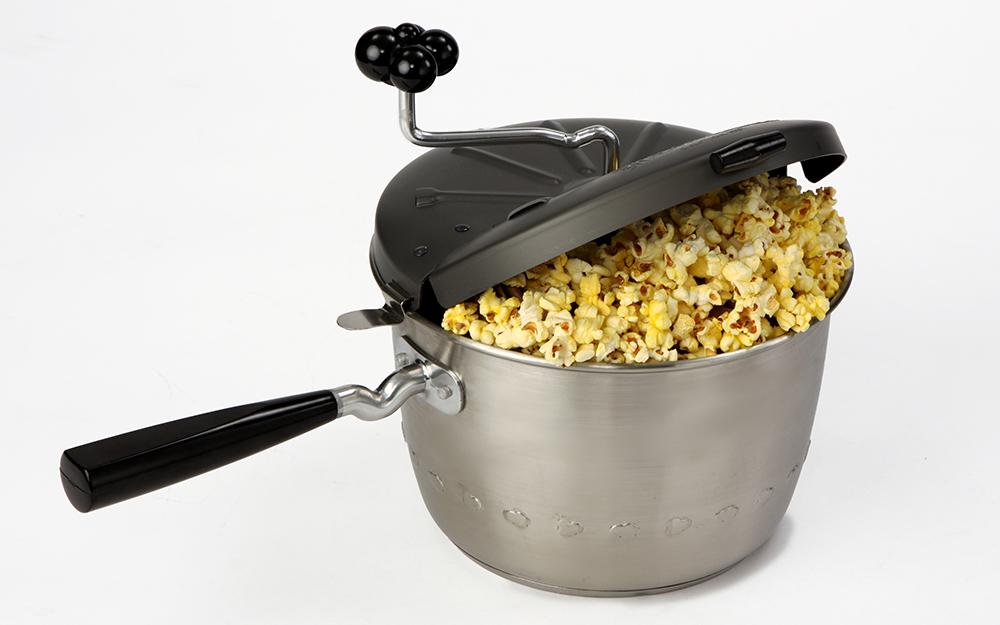 a popcorn pot popcorn popper