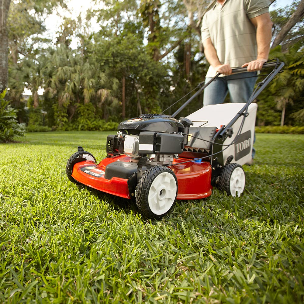 77c06303 Best Push Mowers For Your Yard - The Home Depot
