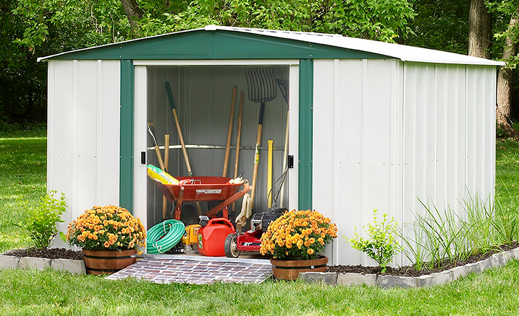 Best Sheds For Outdoor Storage The Home Depot
