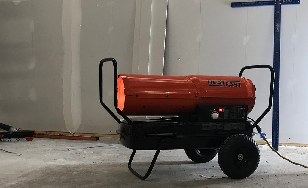 This is a portable gas heater.