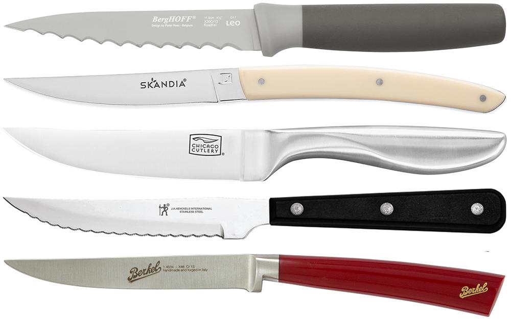 các kiểu cán dao bít tết khác nhau