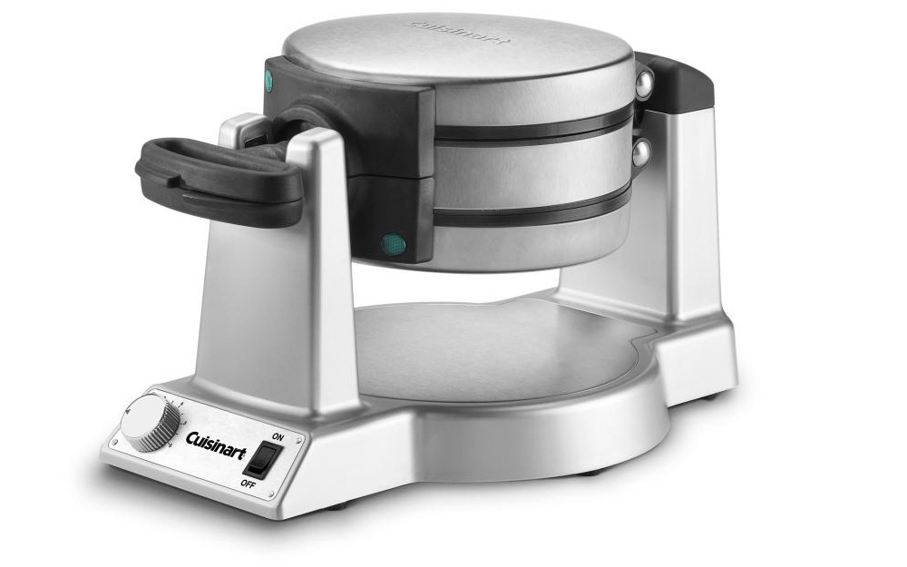a rotating waffle maker