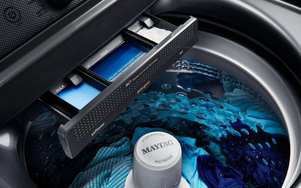 A Top-Load High-Efficiency Washer.