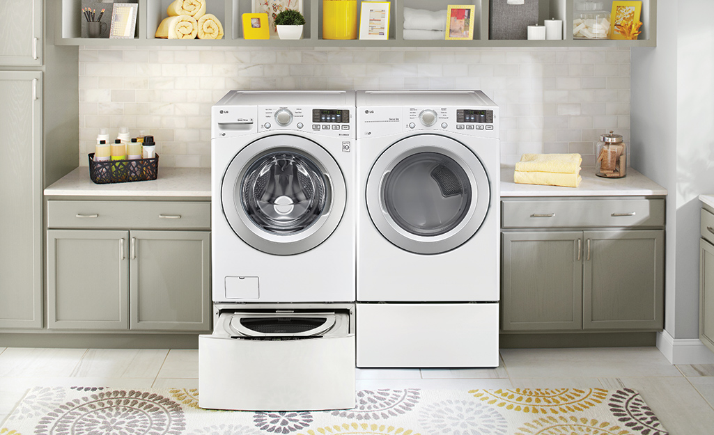 Best Washing Machine Stands and Kits for Your Laundry Room - The Home Depot
