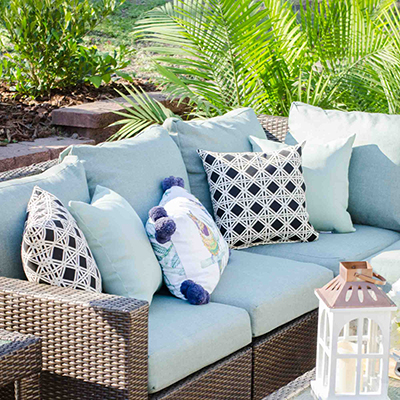 Blue Backyard Ideas