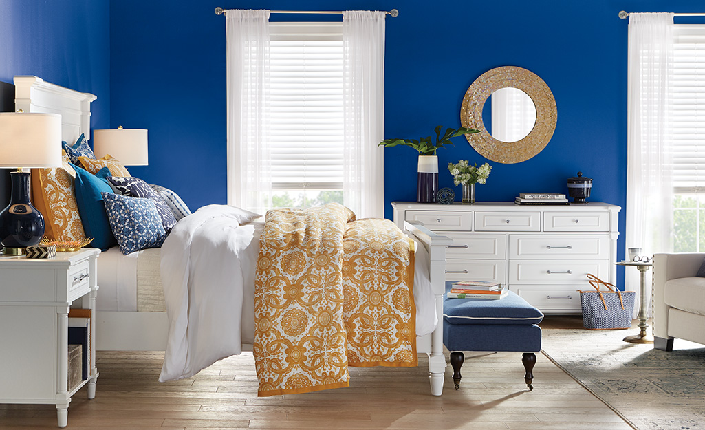 Blue Bedroom Ideas - The Home Depot