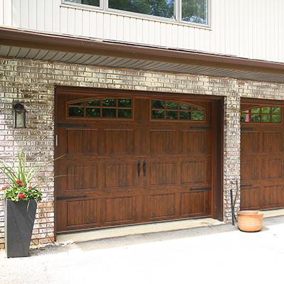 Carriage House Garage Doors Doors Windows The Home Depot