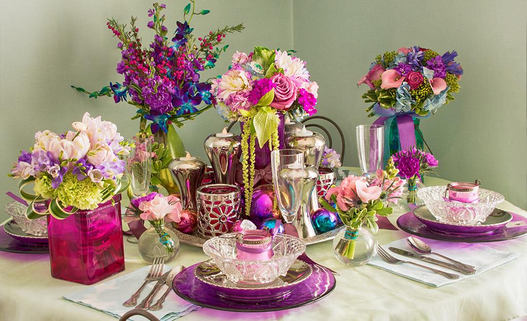 Centerpiece Ideas For Any Occasion Or Season The Home Depot