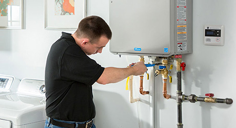 tankless water heaters require less maintenance