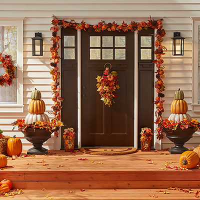 Decorate Your Porch with the Best in Harvest Style