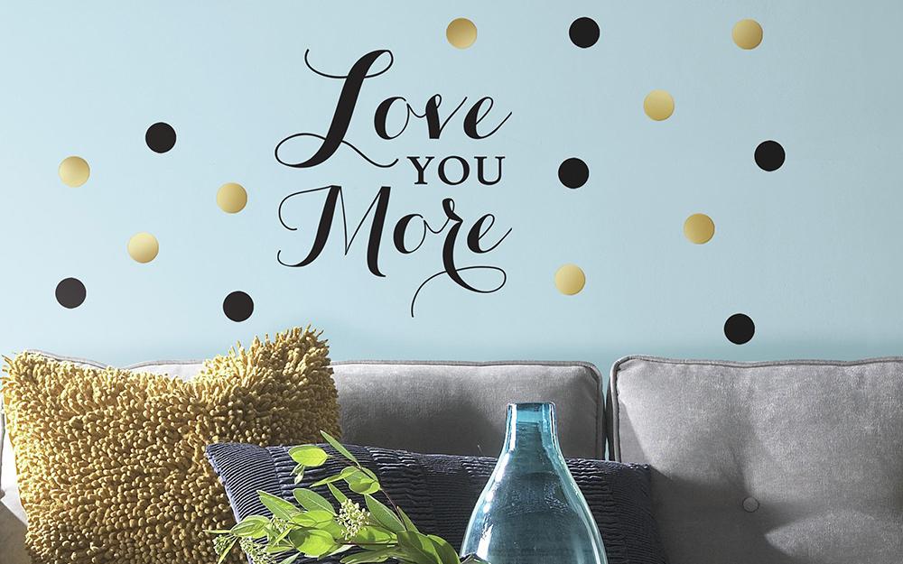 đề can dán tường đọc yêu bạn hơn