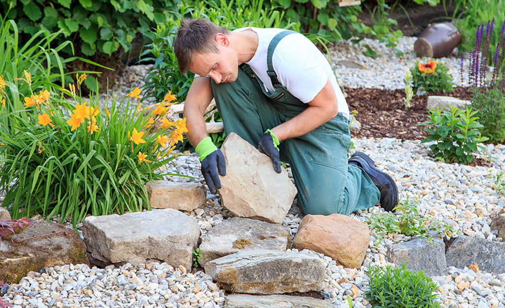 Decorative Stones Types Of Landscaping Rocks The Home Depot