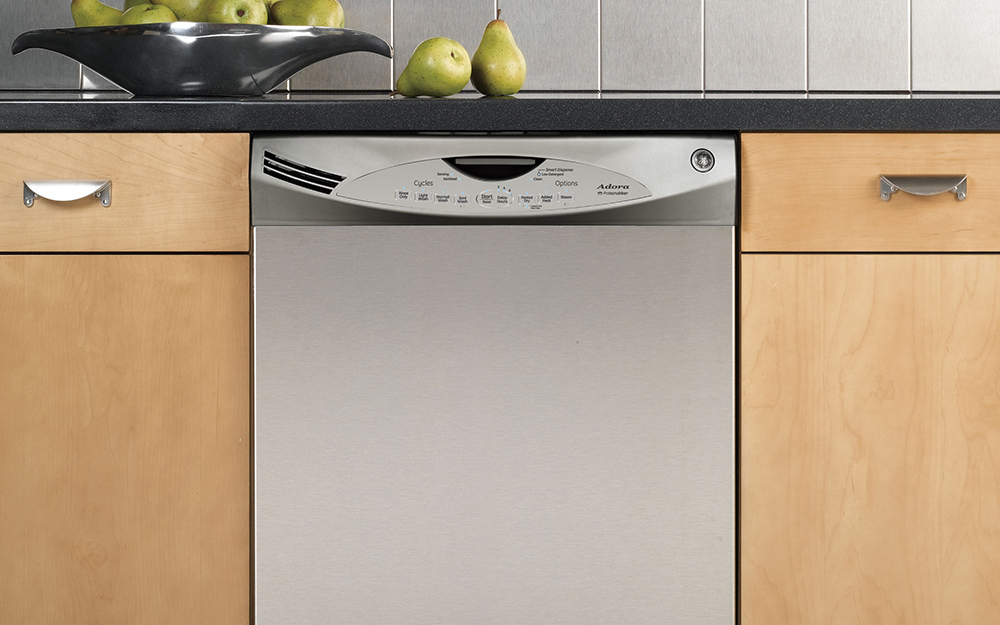 Stainless steel dishwashers are a popular choice