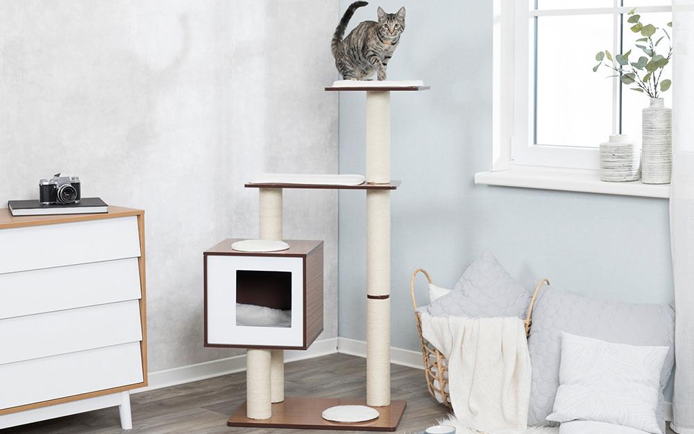 Diy Cat Tree The Home Depot