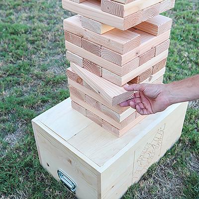 DIY Stacking Blocks Game