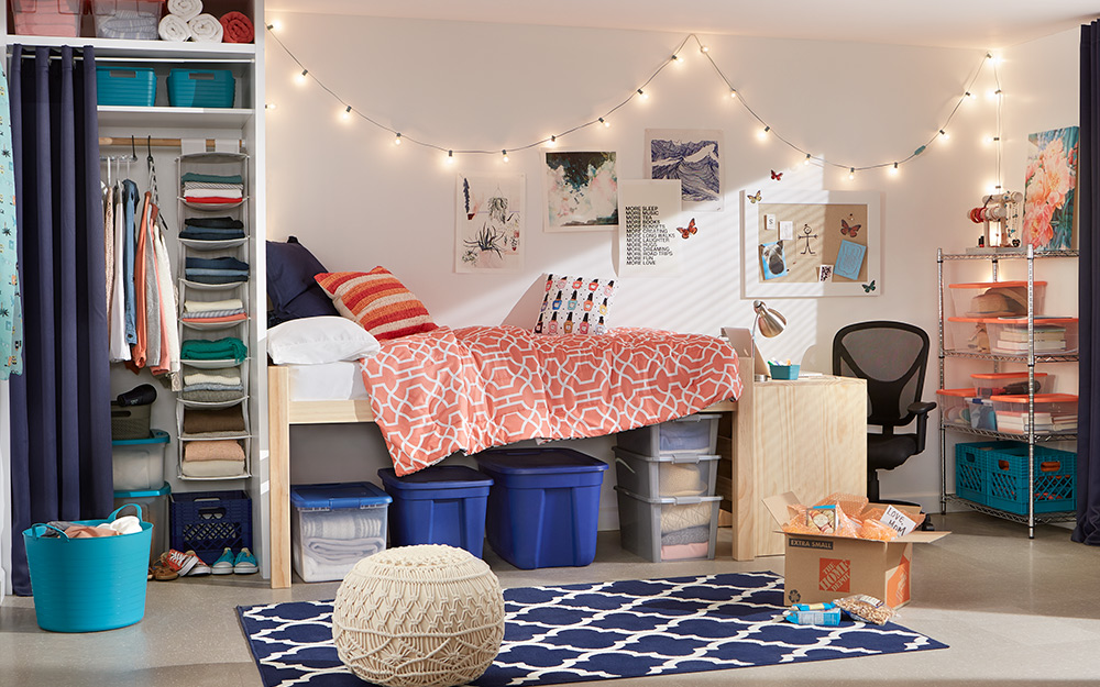 Dorm Room Ideas - The Home Depot
