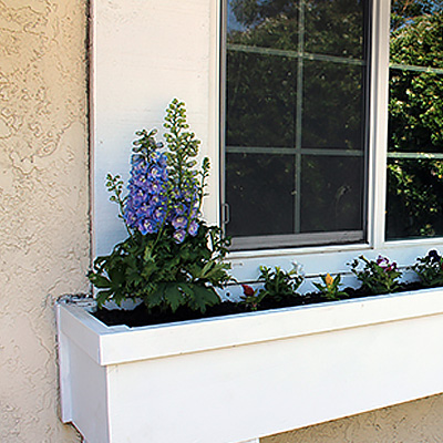 Composite Window Boxes Planters The Home Depot