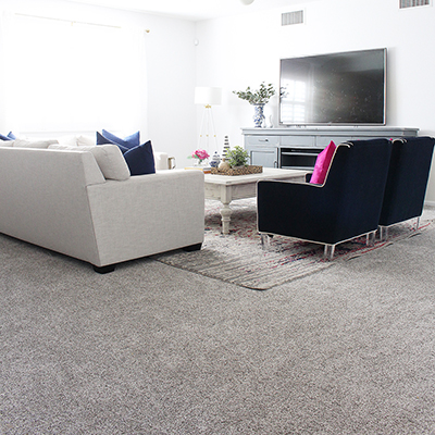 Family Media Room Update With Lifeproof Carpet