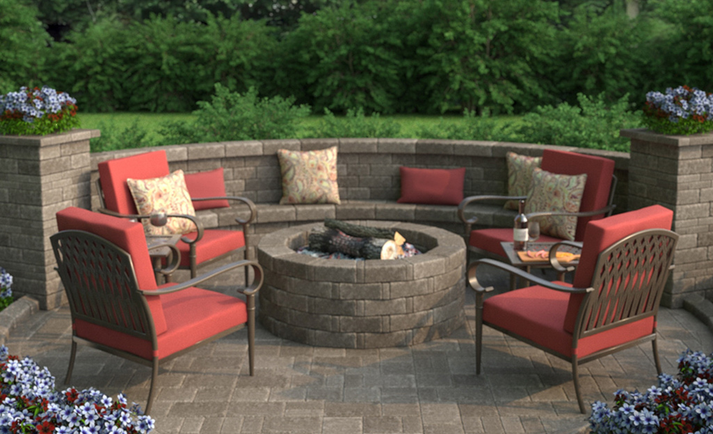 Image of: Fire Pit Ideas The Home Depot