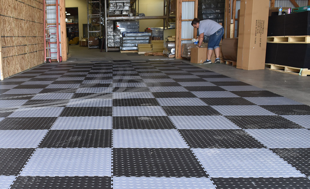 Garage Flooring Ideas The Home Depot
