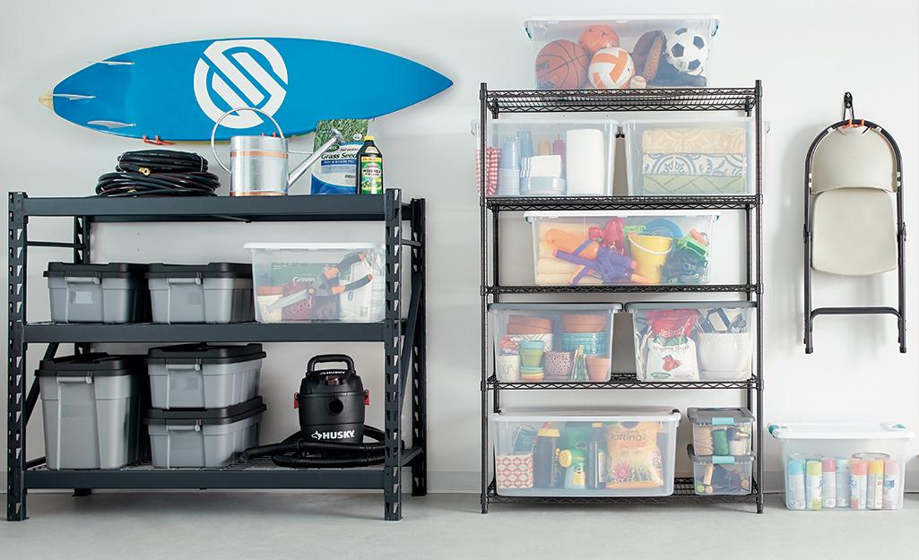 Garage Storage Ideas, Garage Tool Storage Ideas Home Depot