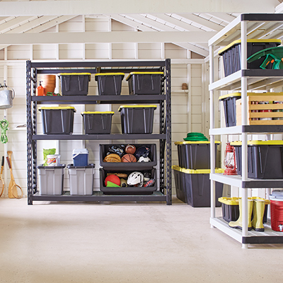 Outstanding Diy Garage Shelves The Home Depot Home Remodeling Inspirations Genioncuboardxyz