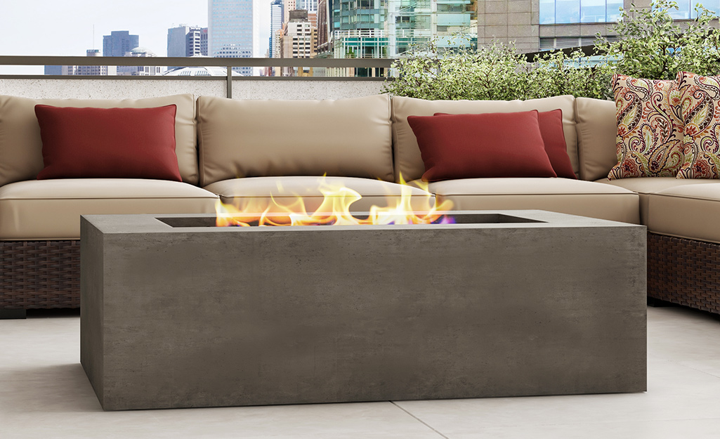 Snuggle Around a Fire Feature