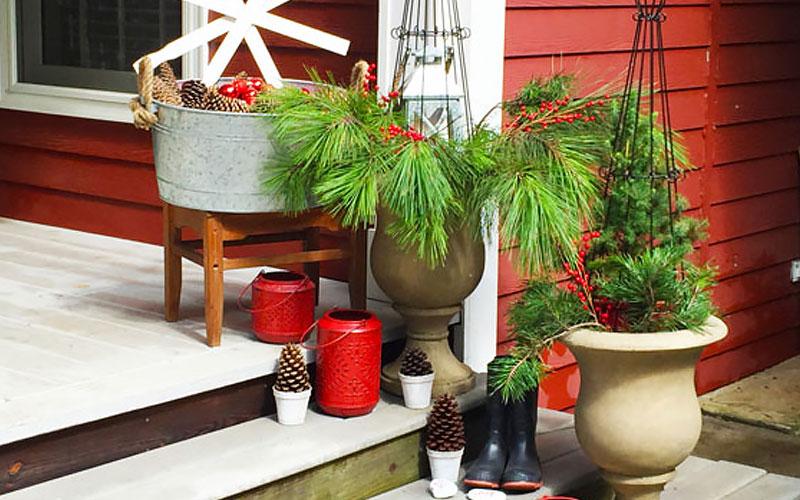 Use Gardening Supplies as Decor