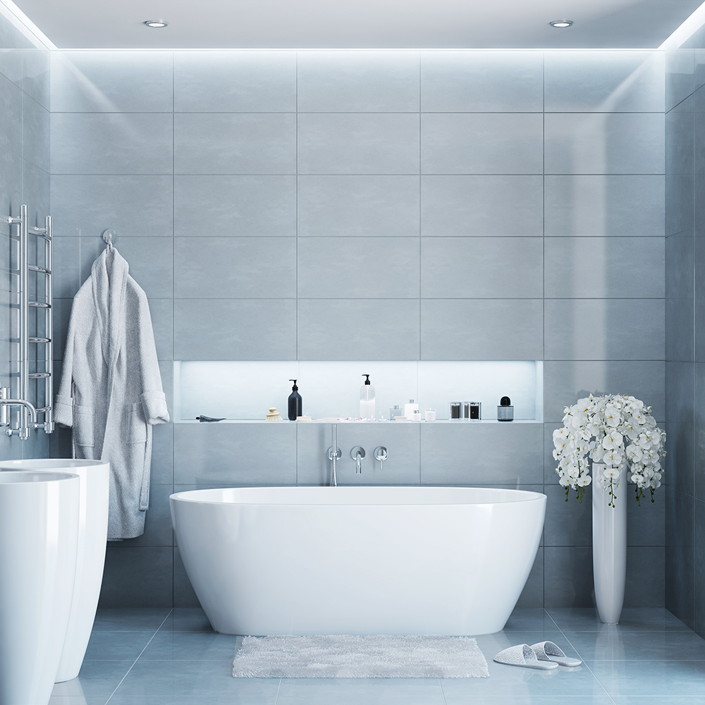 Gray Bathroom Ideas - The Home Depot