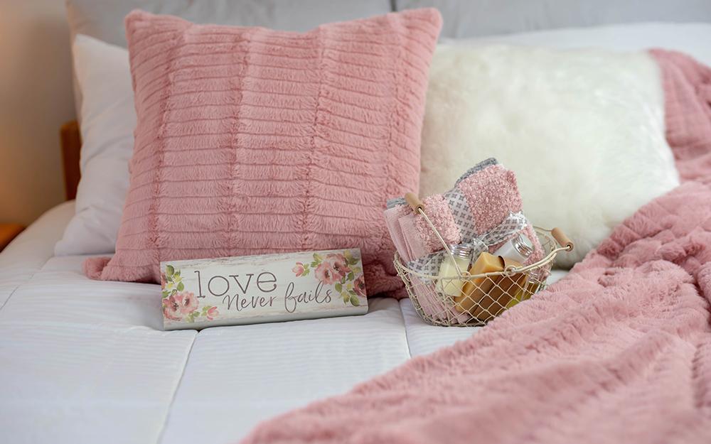 amenities in guest bedroom