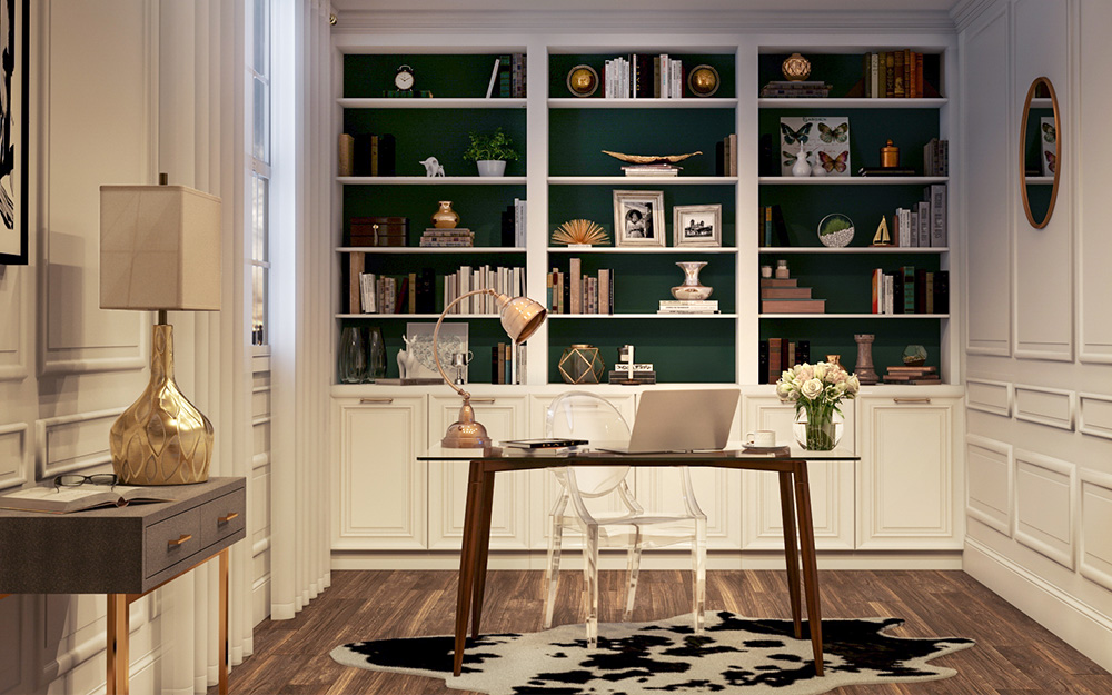 Creative Home Office Ideas The Home Depot