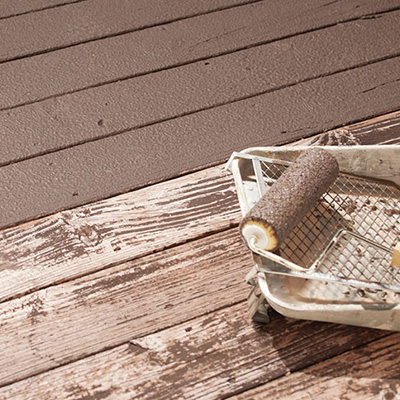 Refinishing a Pressure-Treated Deck